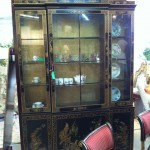 This beautiful chinoiserie cabinet is priced to sell at 895.00