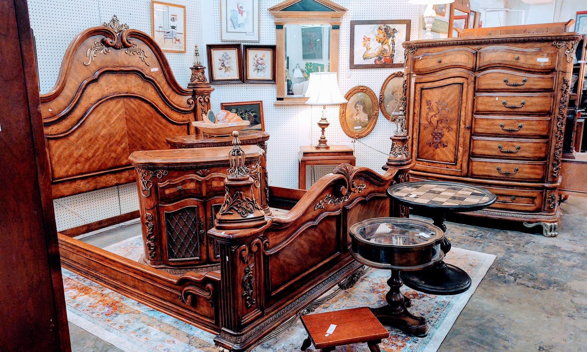 The Red Collection - The Finest Consignment Furniture & Antiques Stores